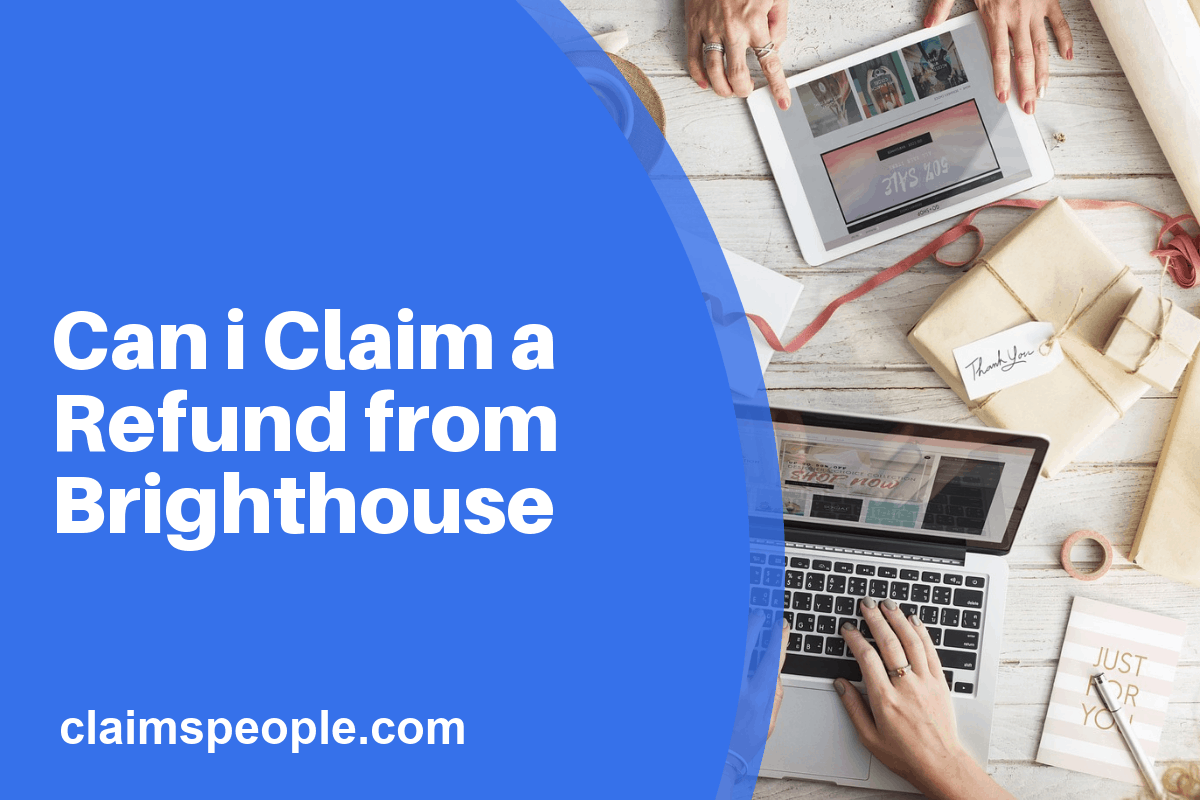 brighthouse refund